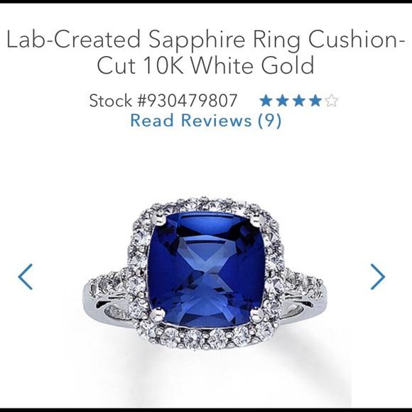 Kay Jewelers Jewelry K Whitegold Blue Sapphire Ring From Kay Jeweler Poshmark
